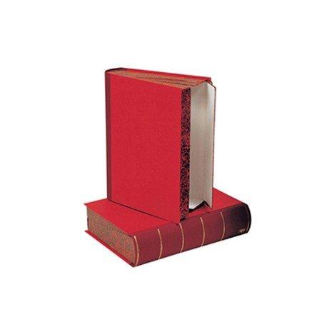 Caja transferencia Liderpapel carton rojo