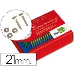Encuadernadores Liderpapel con arandela y 21 mm