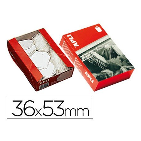 Etiquetas colgantes Apli 392 36 x 53 mm