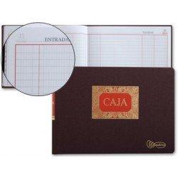 Miquelrius Libro de Caja tamaño folio apaisado y 100 hojas. Dietario