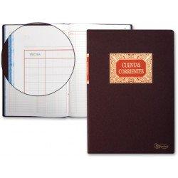 Miquelrius Libro Cuentas Corrientes tamaño folio