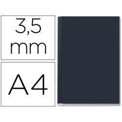 Tapa de Encuadernación Cartón Leitz A4 Negra 10/35 hojas