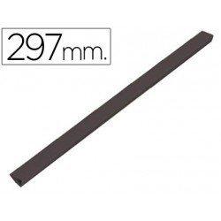Lomera de plastico color negro