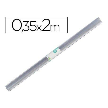 Rollo plastico forralibros Liderpapel de 0.35 x 2 m