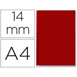 Tapa de Encuadernación Cartón Leitz A4 burdeos 106/140 hojas