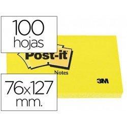 Bloc de notas adhesivas quita y pon Post-it  76x127 mm