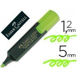 Rotulador Faber-Castell verde