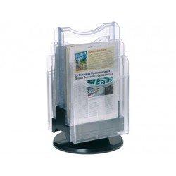 Expositor sobremesa giratorio plastico Archivo 2000