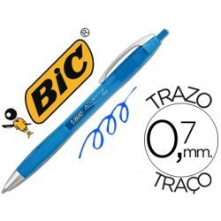 Boligrafo Bic atlantis azul 0,7 mm