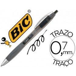 Boligrafo Bic atlantis negro 0,7 mm
