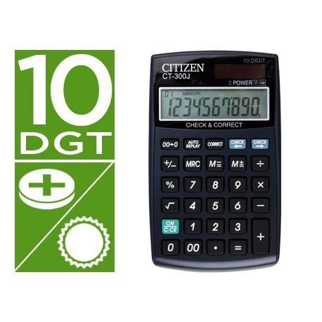 Calculadora sobremesa Citizen CT-300J 10 digitos