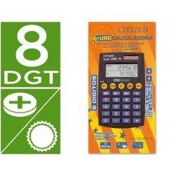 Calculadora Bolsillo Citizen DE-200 euro 8 digitos
