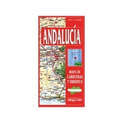 Mapa de carreteras de Andalucia