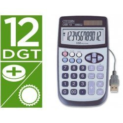 Calculadora Sobremesa Citizen USB-12 12 digitos