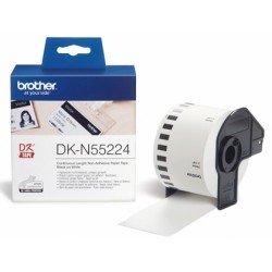 Etiqueta impresora Brother blanca DKN-55224