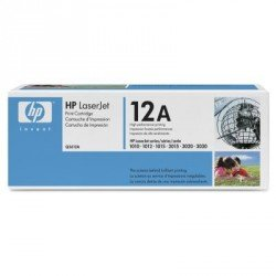 Toner Hp 12A Q2612AD Negro PACK DOBLE
