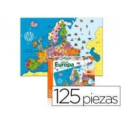 Puzzle paises de Europa a partir de 3 años de 125 piezas marca Goula