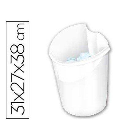 Papelera blanca Cep 15 litros