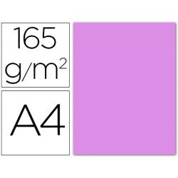 Papel color Liderpapel lila A4 165g/m2
