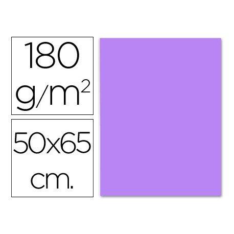 Cartulina Liderpapel lila 50x65 cm 180g/m2