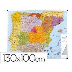 Mapa mudo mural España magnético