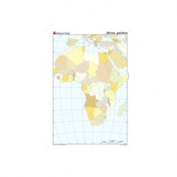 Mapa mudo Africa politico