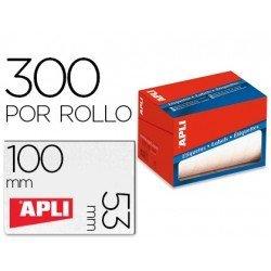 Etiqueta adhesiva Apli 1704 53x100 mm redondas y rectangulares