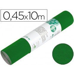 Rollo adhesivo Liderpapel Aironfix ante verde