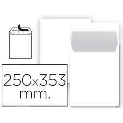 Sobre bolsa Liderpapel C5 blanco Caja 25
