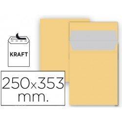 Sobre bolsa Liderpapel N11 Kraft Caja 25