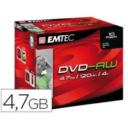 DVD-RV Emtec caja de 10