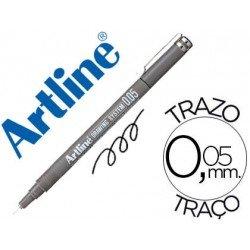 Rotulador Artline calibrado micrometrico negro 0,05mm