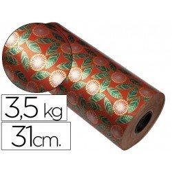 Bobina papel kraft Impresma 31 cm 3,5 kg havana 4307