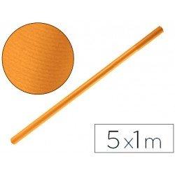 Bobina papel tipo kraft Liderpapel 5 x 1 m marron habana