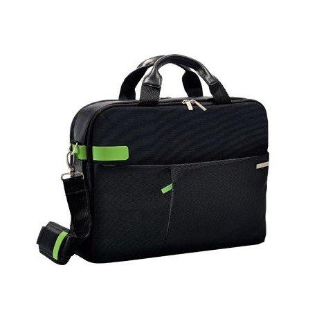 "Maletin para portatil 15,6"" Esselte Smart Traveller negro y verde"