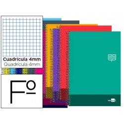 Bloc Folio Liderpapel serie Discover cuadricula 4 mm