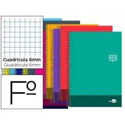 Bloc Folio Liderpapel serie Discover cuadricula 6 mm