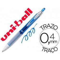 Boligrafo marca Uni-Ball roller UMN-207 color azul 0,4 mm