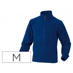 Chaqueta polar DeltaPlus azul talla M