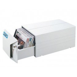 Fichero Aidata cajon para 40 CD y DVD