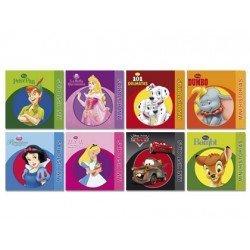 Cuentos colección serie Disney 8 títulos (No se Colorea, y no se puede Elegir)