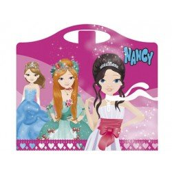 Cuaderno de actividades Maletita Nancy Diseño princesas