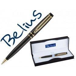 Boligrafo Belius Parma negro lacado