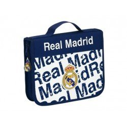 Maletin Real Madrid 13,5x25x4,5 cm Plumier 45 piezas