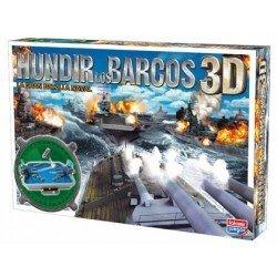 Juego de mesa marca Falomir Hundir los Barcos 3D
