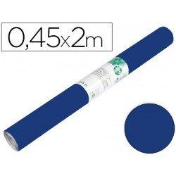 Papel autoadhesivo azul brillo ante Liderpapel