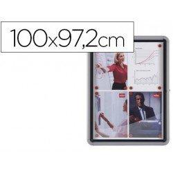 Vitrina de anuncios mural exterior 100x97,2cm Nobo