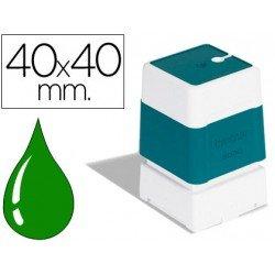 Sello automatico Brother 40 x 40 mm verde