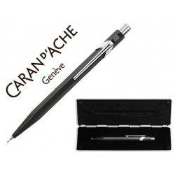 Estuche negro portaminas Caran D´ache 844 trazo 0,7mm