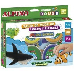 Pasta Alpino para modelar dough Sea World